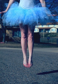 Blue Tutu by D. Sharon Pruitt