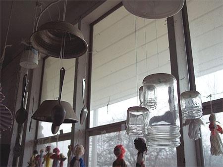 Handmade windchimes by J.G. Park